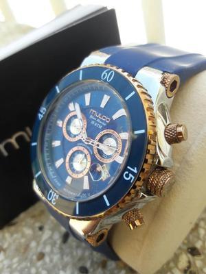 Reloj Mulco Blue Marine Atm10 Original