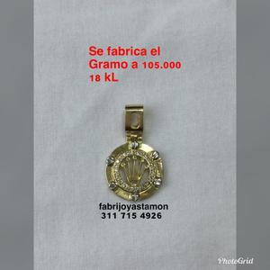 Se Fabrica El Gramo a  Oro 18Kl