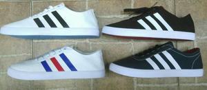 Tenis Zapatillas Adidas Neo Lona Hombre
