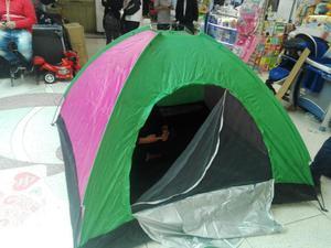 Carpa Camping Impermeable para 3 personas vieje vacaciones