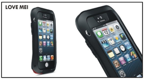 Estuche Antigolpes Love Mei Powerful Para Iphone 5s Se