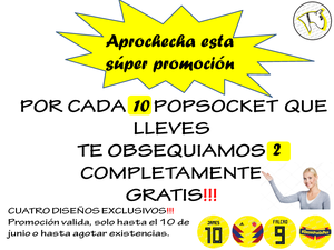 Popsockets Selección Colombia