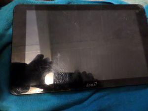 Tablet Aprix con codigo de seguridad funciona normal