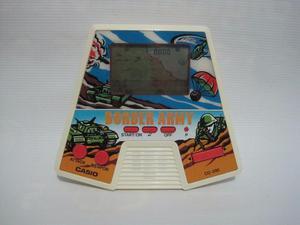 Consola Portatil Casio Game Border Army Game Funciona 80`s