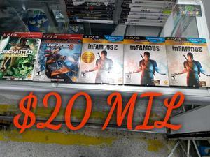 Juegos Play 3 Originales desde 20 Mil