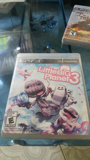 Little Big Planet 3 Ps3 Play 3