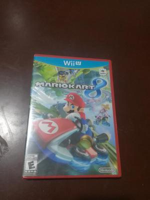 Mario Kart Wii U Nuevo Sellado