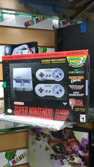 Super Nintendo Mini Original Nuevo