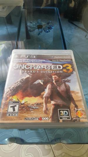 Uncharted 3 Play 3 Ps3