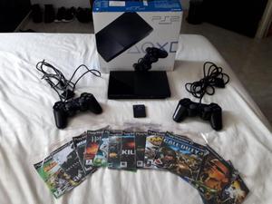 Vendo playstation 2 controles memoria 8MB 14 juegos