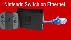Cable Red Ethernet Usb 3.0 Para Nintendo Switch