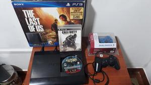 Ps3 Super Slim 500gb,16 Juegos