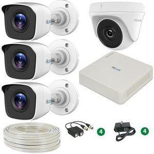 Kit de 4 cámaras de seguridad al mejor precio