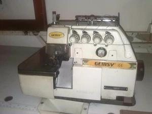 Se vende maquina de coser y fileteadora marca Gemsy