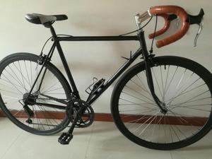 Bicicleta Fixie Semi Carrera de Ruta