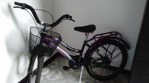 Bicicleta para mujer todo terreno