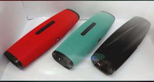 nuevos, parlantes recargables tipo JBL, puerto usb, micro,