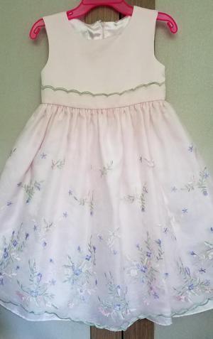 Vestido Elegante Para Niña Talla 3t Marca Americana