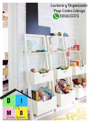 organizadores y escritorios para pequeños