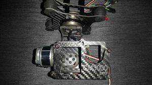 Gimbal drone vendo o cambio