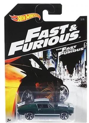 Hot Wheels Escala Rapido Y Furioso Ford Mustang Coleccion