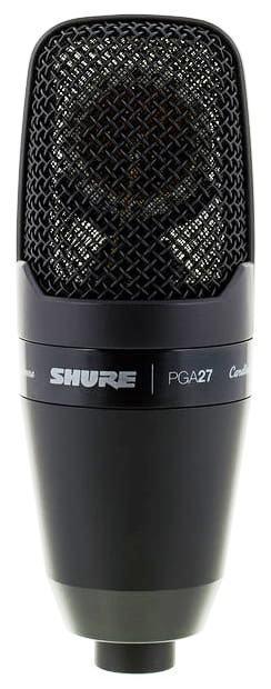 Microfono De Condensador Shure Pga27lc Original