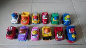 Carros little people x 12