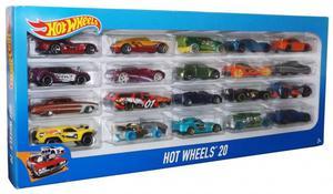 Hot Wheels Paquete De 20 Carros Originales Estilos Variados