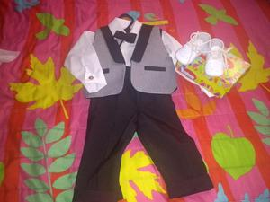 Vestido de Bautizo para Niño Talla 1