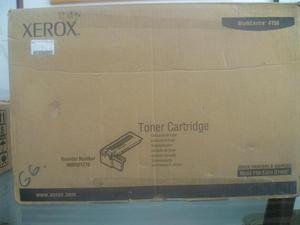 vendo toner Xerox para workcentre  original nuevo sin