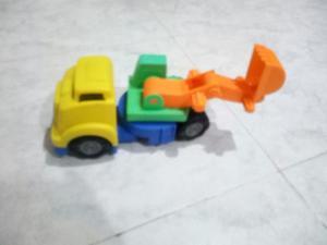 Carro de Construcción para Niños