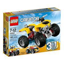 Lego Creator Turbo Quad Moto De Cuatro Ruedas 3 En