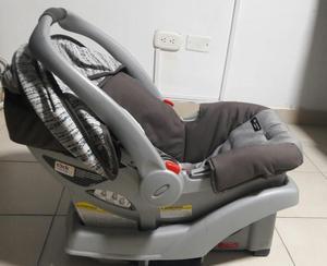 silla de bebé para carro mas base