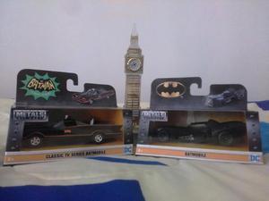 COLECCIÓN CARROS CLASICOS DE BATMAN TV Y BATMAN RETOURNS EN