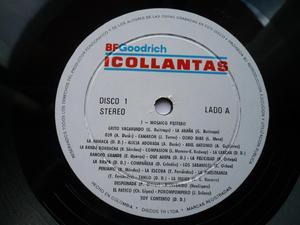 Disco Doble Acetato Vinilo LP Varios BFGoodrich 24 éxitos