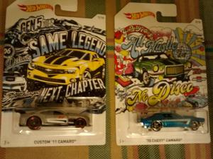 Hot Wheels 11´Custom Camaro 70´Chevy Camaro