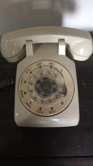 Telefono de Mesa Antiguo Itt