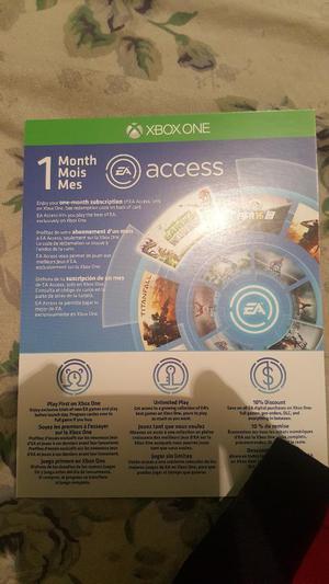 Ea Access 1mes