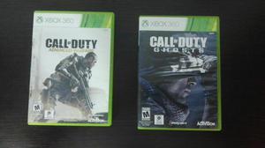 Vendo 2 Call Of Duty para Xbox 360 Y One