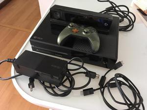 Xbox One de 500GB con kinect y control de master chief