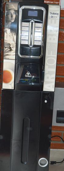 se vende máquina express de café y bebidas calientes