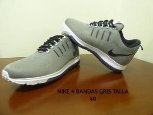 Nike 4 Bandas Gris