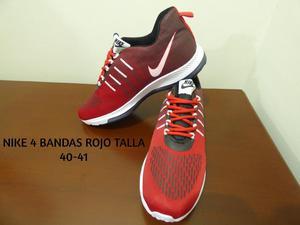 Nike 4 Bandas Rojo