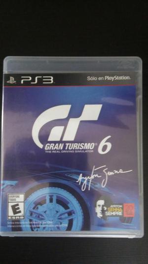Gran Turismo 6 Ps3 Play 3 Como Nuevo Solo Vendo