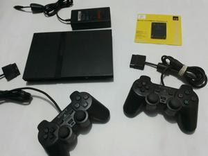 Play2 Slim Trae 5 Juegos, 2 2 Controles