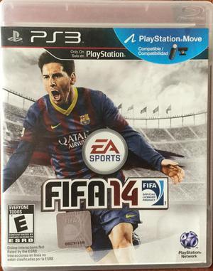 Vendo Fifa 14 para Ps3, Play Station 3.