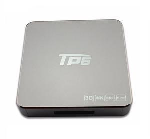 convierte tu TV en smart tv BOX TP6 4K ANDROID 6.0 3D 64 BIT