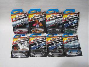 Coleccion Autos Saga Rapido Y Furioso Hotwheels Fast Furious