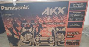 Equipo de sonido Panasonic AKX