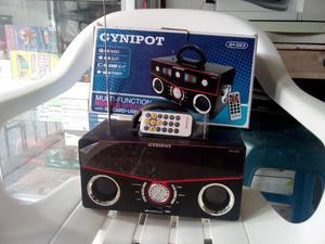 Parlante con Control, Radio Fm, Linterna